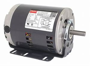 Dayton 3  4 Hp Belt Drive Motor  Split