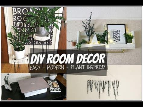 diy room decor ideas  tumblr plant inspired room