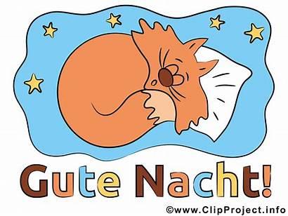 Nacht Clipart Gute Katzenbild Natt God Night
