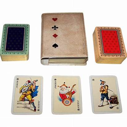 Ass Playing Cards Deck Patience Double Courts