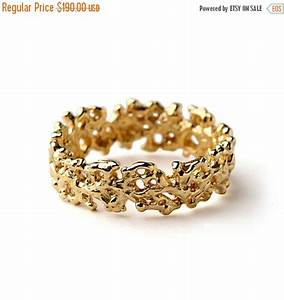 black friday sale coral wedding band yellow gold With black friday mens wedding rings