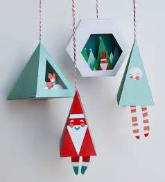 diy christmas decorations with printable items petit small