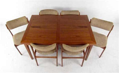 Mid-century Dining Set With Table And Chairs By Skovby And