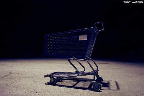 tony walton  shopping cart exposure night photography