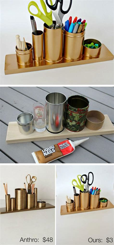 diy desk organizer diy storage ideas for rooms craftriver