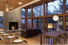 Modern Open Space Natural House Design Modern Home Living Room Design Open Living Room Kitchen Designs