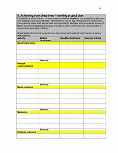 media plan template free media plan template free media With advertising media plan template