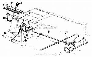 Mtd 133p679h009  741345   1993  Parts Diagram For Shift Lever