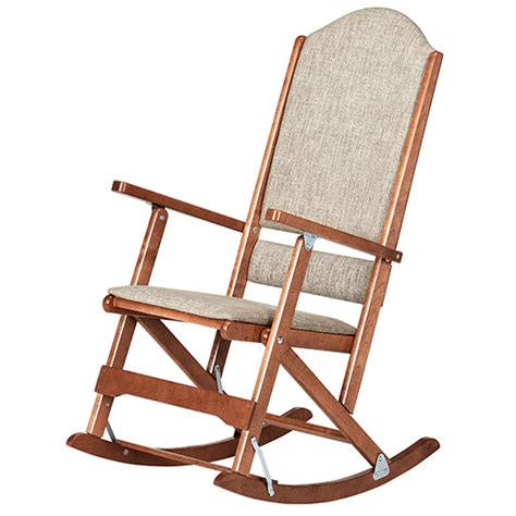 chaise bercante en bois chaise berçante pliante liquida meubles