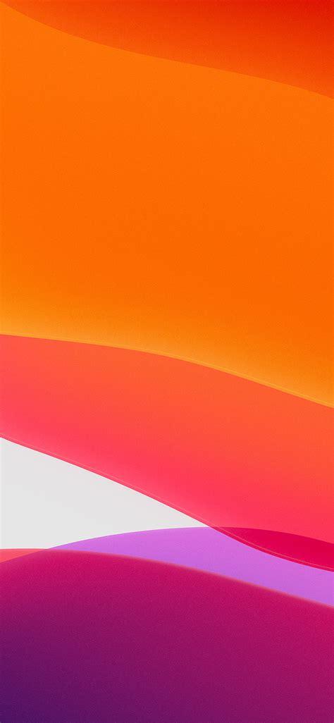 Apple Ios 13 Wallpaper Hd by Bj42 Apple Iphone Ios13 Background Orange Wallpaper