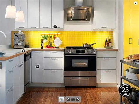 ikea kitchen ideas and inspiration ikea yellow and white kitchen design interior design ideas