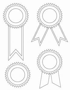 Blank Award Ribbons - Tim's Printables