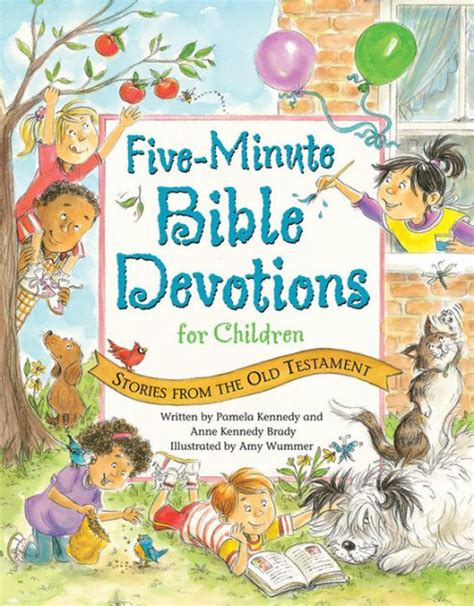 five minute bible devotions for children stories from the 279 | 9780824956387 p0 v3 s1200x630
