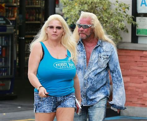 fans shower dog the bounty hunter 39 s wife with support