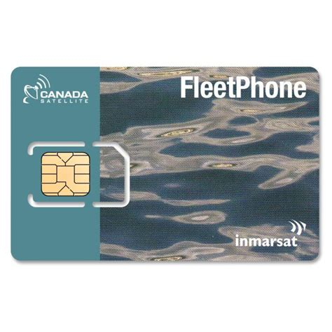 A fuel card or fleet card is used as a payment card most commonly for gasoline, diesel, and other fuels at gas stations. Inmarsat Fleet One Coastal SIM Card