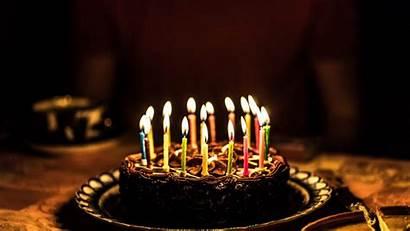 Birthday Cake Candles Party Celebration Chocolate Celebrations