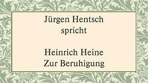 Atemübung Zur Beruhigung : heinrich heine zur beruhigung youtube ~ A.2002-acura-tl-radio.info Haus und Dekorationen