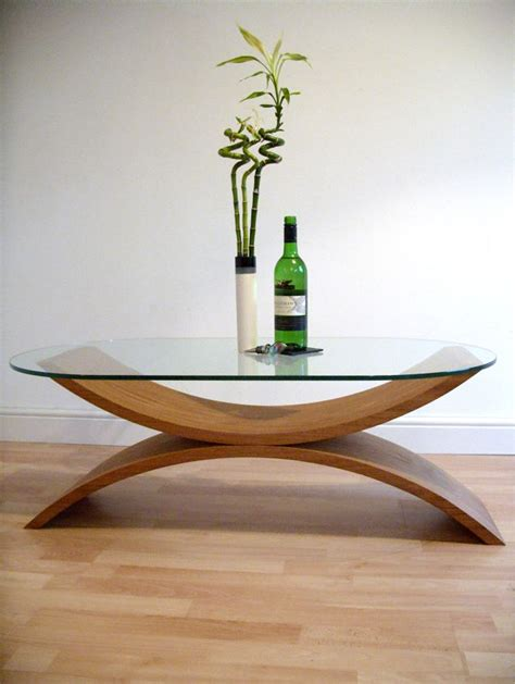 Nicos zographos designs ltd brushed stainless steel coffee table w/ glass top. Contemporary coffee table, curved wood with glass top in 2020 | Contemporary coffee table, Oval ...
