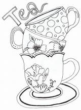 Coloring Adult Pages Printable Serendipity sketch template
