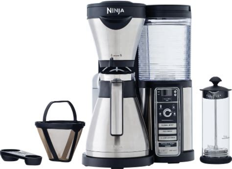 From drinking it strong to frothy to why should i consider buying ninja coffee maker? Fred Meyer - Ninja® Coffee Bar™ Stainless Steel Filter Coffee Maker - Black, 1 ct