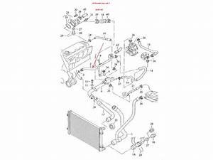 przewod powrotny rurka metalowa ukladu chlodzenia silnika With audi a4 1 8t turbo