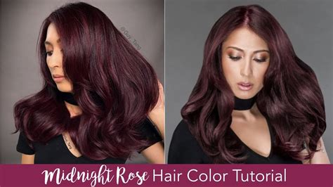 Midnight Rose Hair Color Tutorial