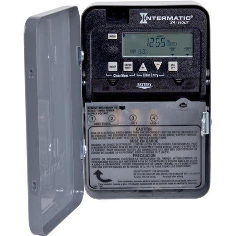 Intermatic Amp Hour Spst Circuit Digital Time