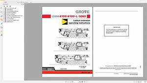 Grove Mobile Crane Gmk5095 Operating Instructions