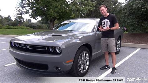 2017 Challenger Gt Awd by Review 2017 Dodge Challenger Gt Awd