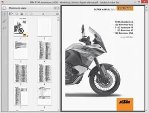Ktm 1190 Adventure  2014  - Service Manual