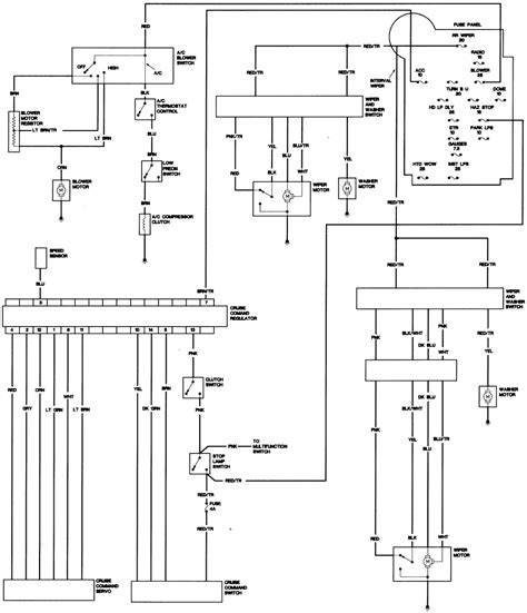 1980 Jeep Cj7 Wiring Diagram by Repair Guides Wiring Diagrams Wiring Diagrams