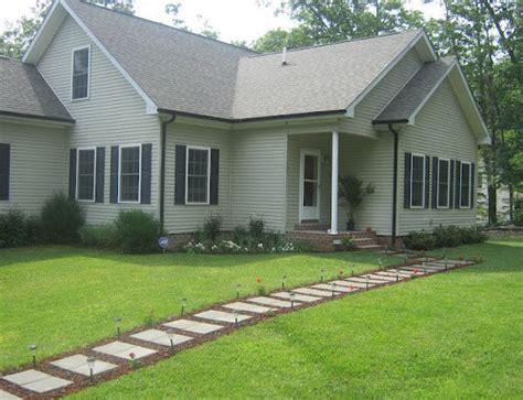 hometalk front walkway built   inexpensive cement