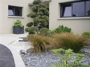 parterre de fleur avec ardoise cool parterre avec ardoise With good deco pour jardin exterieur 10 deco cuisine rustique