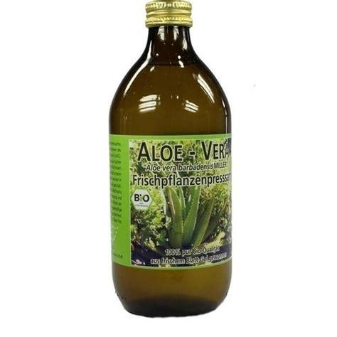aloe vera frischpflanzen saft  ml pzn