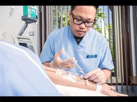 Nursing Students Practice Nursing Skills With Cae Juno