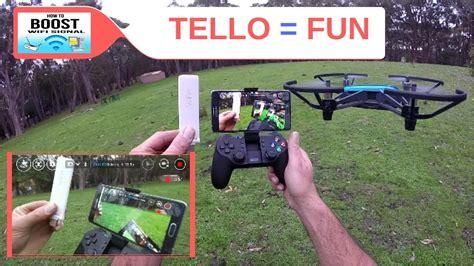 dji tello mii wifi extender td gamesir controller  kangaroo youtube