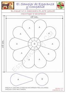 patrones dresden and dresden plate patterns on pinterest With how to make a dresden plate template