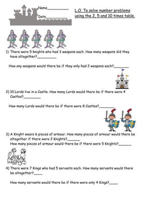multiplication word problems year 2 by beckyjanehutchings