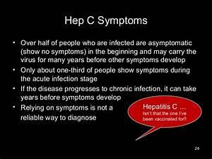 Hepatitis C & H... Hepatitis C Symptoms