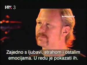 Metallica - London 2003 [Interview - Cut] - YouTube