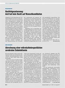 Goä Abrechnung Lernen : go ratgeber abrechnung einer mikrokathetergest tzten zerebralen embolektomie ~ Themetempest.com Abrechnung