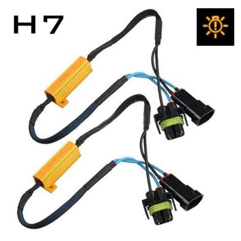 H7 Led L Canbus by H7 Fog Light Cree Led Resistor Harness Canbus Error
