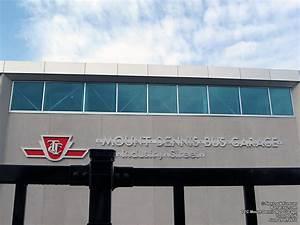 Ttc Mount Dennis Bus Garage  Toronto  Ontario