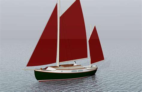 Sailing Boat Yawl by Tamara 24 Raised Deck Canoe Yawl Sail Boats Under 29