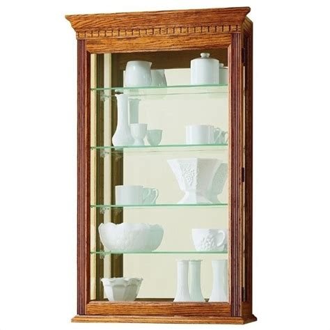 decorative wall curio cabinets howard miller montreal wall display curio cabinet 685106