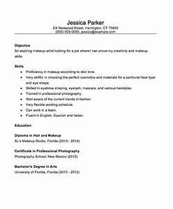 beginner makeup artist 2016 resume sample http With beginner resume examples