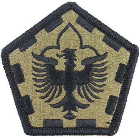 army embroidered  ocp  engineer group patch vanguard