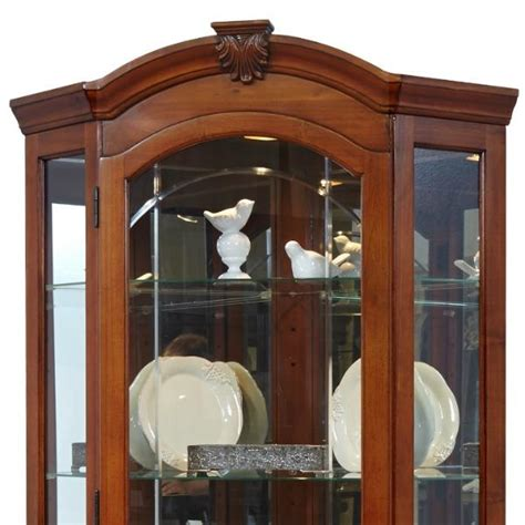 pulaski concave corner curio cabinet 100 corner curio cabinet pulaski
