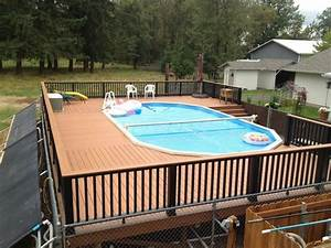 Above ground pool deck ideas free above ground pool deck for Above ground swimming pool deck designs
