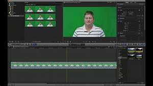 Final Cut Pro X Green Screen Tutorial  Step